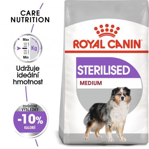 Royal Canin Medium Sterilised bal.3kg/10kg