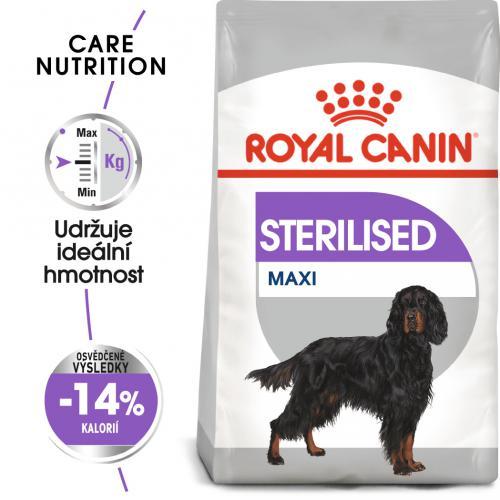 Royal Canin Maxi Sterilised bal.3kg/9kg