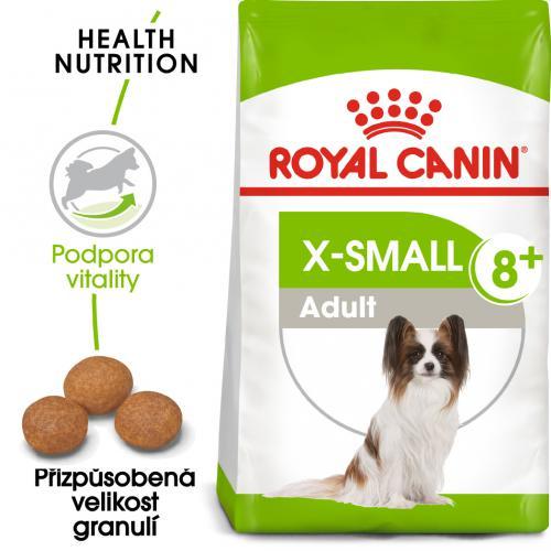 Royal Canin X-Small Adult 8+ bal.500g/1,5kg
