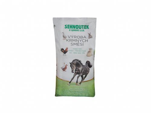 Pštros výkrm 2 granule 25kg krmná smìs