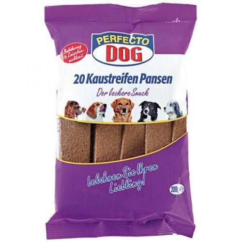 Perfecto Dog Masové plátky s hovìzím bachorem (10ks/200g)