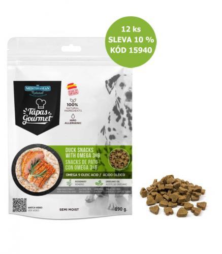 Tapas Gourmet Snack for dog Duck 190 g