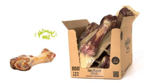 Serrano Half Ham Bone - polovièní šunková kost pro støední a velká plemena pøibližnì 230 g