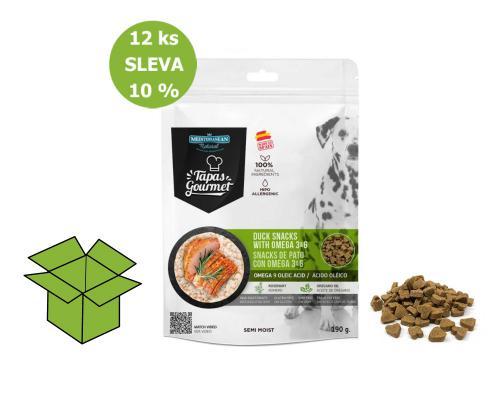 Tapas Gourmet Snack for dog Duck 190 g (12 ks) AKCE 10 %