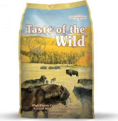 TASTE WILD high PRAIRIE 12,2 kg