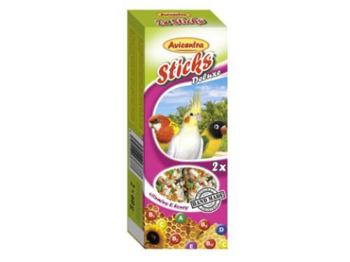 Avicentra tyèinky malý papoušek - vitam.+med 2ks