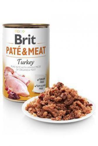 Brit Dog konz Paté & Meat Turkey 800g 6ks