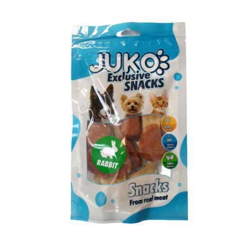 JUKO SNACKS Rabbit Ear with Chicken 70 g
