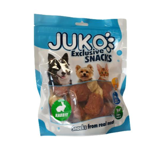 JUKO SNACKS Rabbit Ear with Chicken 250 g