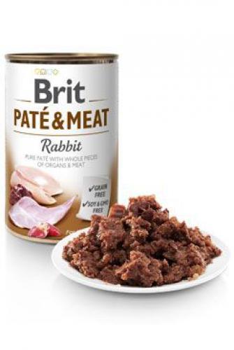 Brit Dog konz Paté & Meat Rabbit 800g 6ks