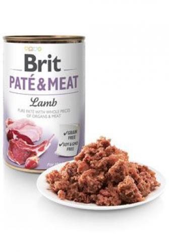 Brit Dog konz Paté & Meat Lamb 800g 6ks