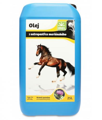 IREL ostropestøecový olej 25l