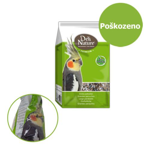Deli Nature Premium papoušek 1 kg - POŠKOZENÝ OBAL - SLEVA 20 %