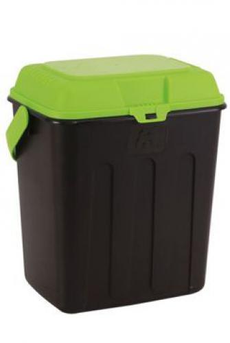 MAELSON Box na granule èerná/zelená 3,5kg