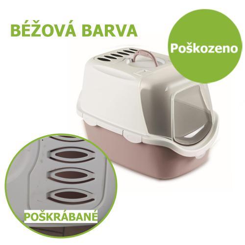 WC uzavøené Cathy Easy Clean, béžová - Poškrábané - SLEVA 15 %