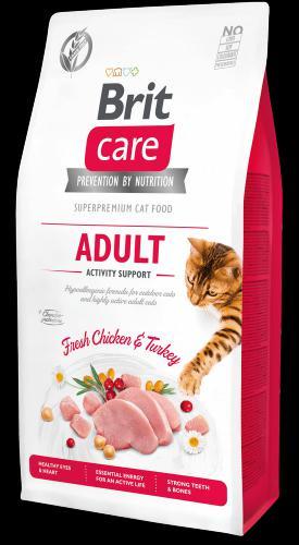 Brit Care Cat Grain-Free Adult Activity Support 7kg