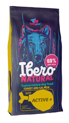Ibero NATURAL dog ACTIVE plus