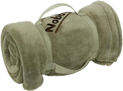 Nobby Soft fleecová deka svìtle hnìdá 100x150 cm