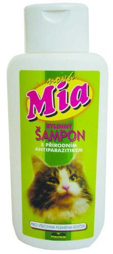 Šampon pro koèky bylinný Mia 250 ml
