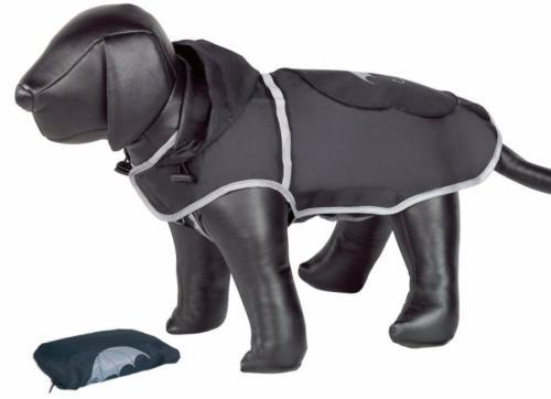 Nobby Rainy èerná reflexní pláštìnka pro psa 26cm