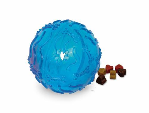 Nobby TRP Snack Ball plnící hraèka velká 10cm modrá