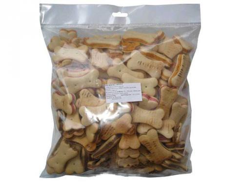 Plnìné kostièky sušenky 1 kg