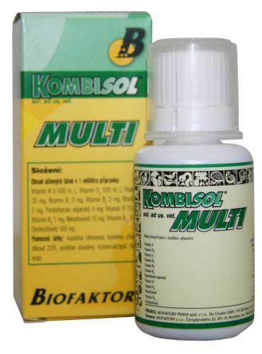 Tekutý Kombiol Multi 30 ml