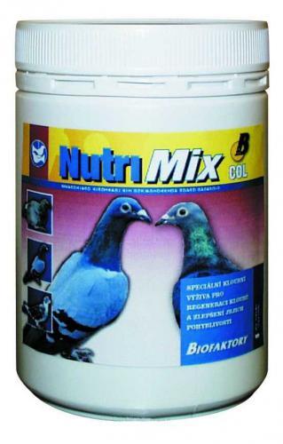 Vitaminominerální doplnìk NutriMix COL pro holuby