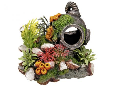Nobby akvarijní dekorace potápìèská pøilba 13,5 x 11 x 12 cm