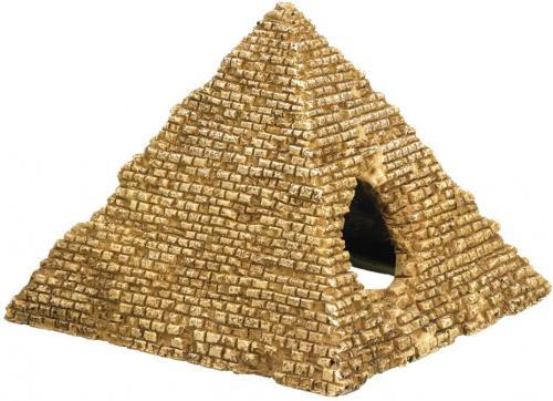 Nobby akvarijní dekorace pyramida 10,5 x 10 x 8 cm