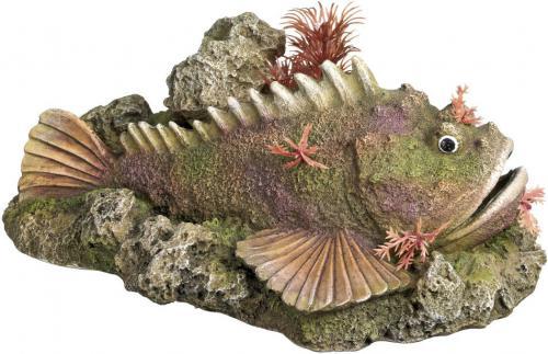 Nobby akvarijní dekorace Stone Fish 21 x 14,5 x 9 cm