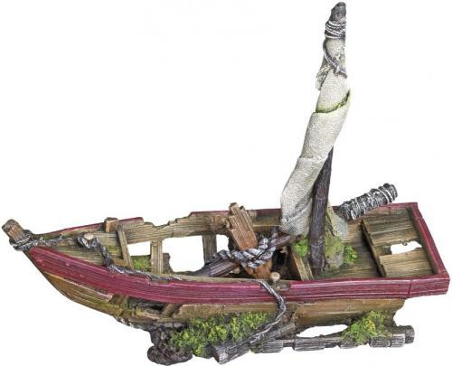 Nobby akvarijní dekorace vrak lodi 23,2 x 7,5 x 18 cm