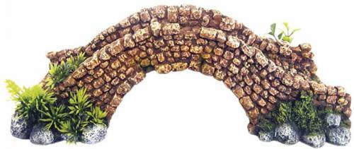 Nobby akvarijní dekorace kamenný most 34,5 x 16,2 x 11 cm