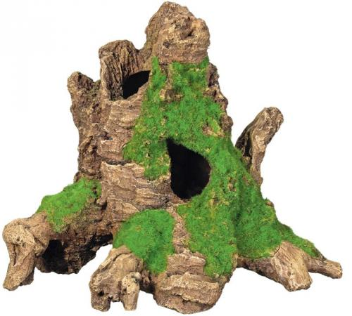 Nobby akvarijní dekorace dutý paøez s mechem 25 x 17 x 20,2 cm