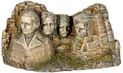 Nobby akvarijní dekorace památník Mount Rushmore 20 x 8 x 10,7 cm