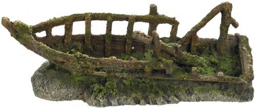 Nobby akvarijní dekorace Rozbitá loï 32,8 x 12,5 x 12,2 cm