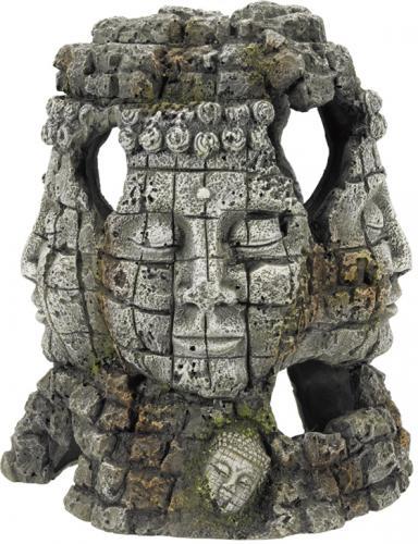 Nobby akvarijní dekorace Rujna s tváøemi 17,5 x 16 x 20,5 cm