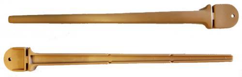 Nobby plastové bidýlko do klece béžová 23cm 1ks