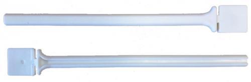 Nobby plastové bidýlko do klece bílá 23cm 1ks