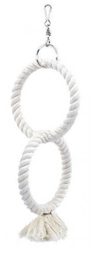 Nobby bavlnìné 2 kruhy pro papoušky 32cm