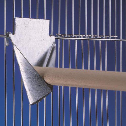 Nobby kovový bržák na bidlo do klece 4,5 x 6 cm