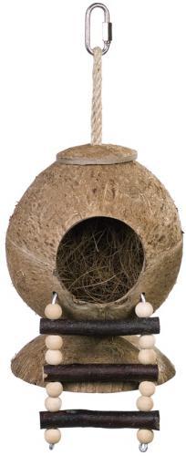 Nobby kokosový domek s žebøíkem 31 x 11,5 cm