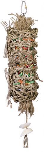 Nobby aktivní hraèka pro papoušky moøská tráva 40 x 8 cm