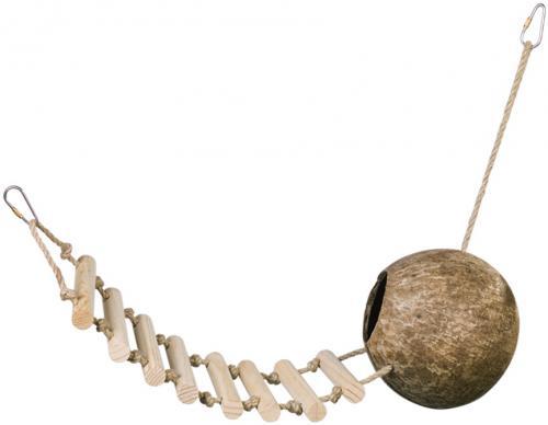 Nobby kokosový domek s žebøíkem 65 cm