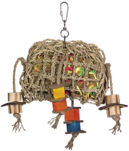 Nobby aktivní hraèka pro papoušky moøská øasa 29 x 21 cm