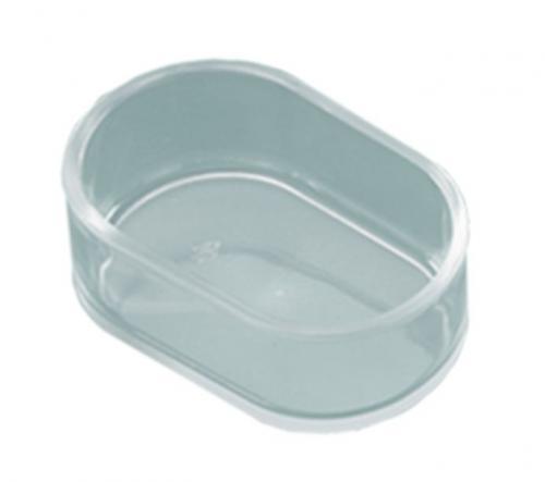 Nobby miska transparentní oválná 7 x 3,5 cm