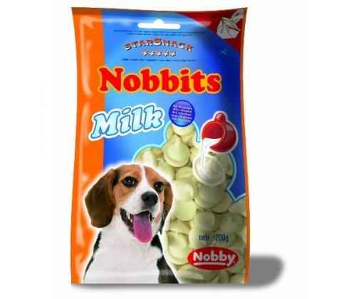 Nobby StarSnack Nobbits Milk pamlsky pro psa 200g