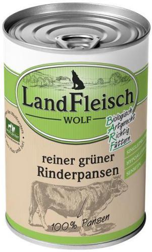 Landfleisch Dog Wolf 100% Hovìzí drš�ky 400g