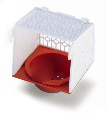 Nobby hnízdo èervené s držákem 15,4 x 15,2 x 11,2 cm