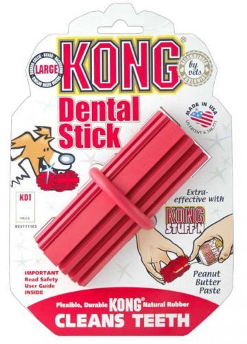 Kong Dental Stick Medium dentální hraèka 9cm